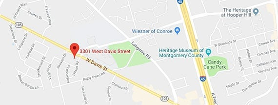 3301 West Davis Street, Conroe | Clarity Hearing