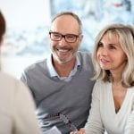 Mature couple meeting | Clarity Hearing