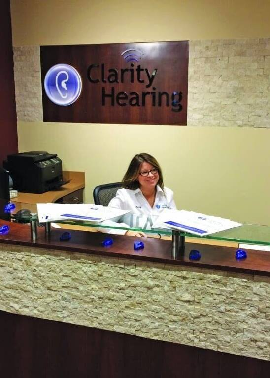 clarity hearing reception