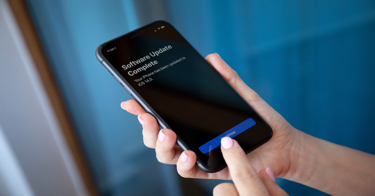 Apple iphone software updates